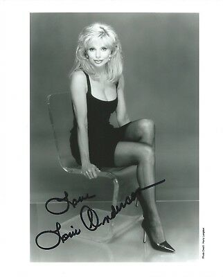 "LONI ANDERSON Hand Signed 8x10"" Autographed Photo w/COA - WKRP IN CINCINNATI"