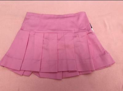 Nwt Adorable Ralph Lauren Infant Girl Pink Pleated Skirt Size 24 Mos