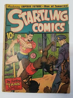 Startling Comics #14 Golden Age The Fighting Yank