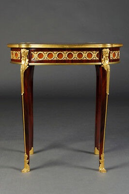 Fine French Salon Side Table Table in the Transition Style