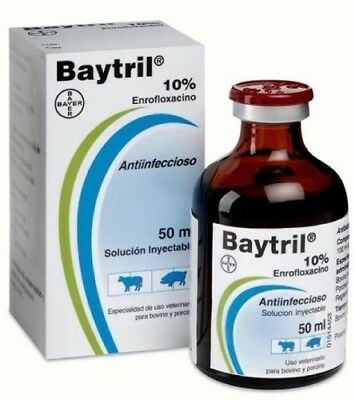 BAYTRIL 10%- 25ML for Poultry