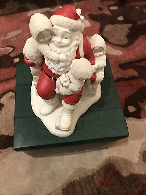 Dept. 56 Snowbabies Guest Collection…And We've Been Really Good Santa 69915