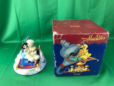 Disney's Aladdin Jasmine Magic Carpet Music Box Schmid