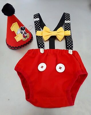 Disney Mickey Mouse Cake Smash Outfit