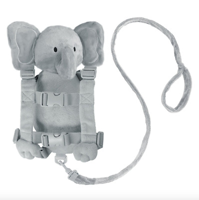 Elephant Child Harness Backpack Kid Safety Harness Leash Baby Toddler Strap Rein