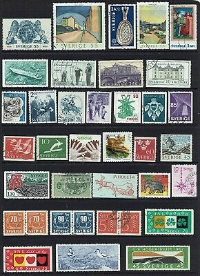 Sweden  Various Stamps...collection...
