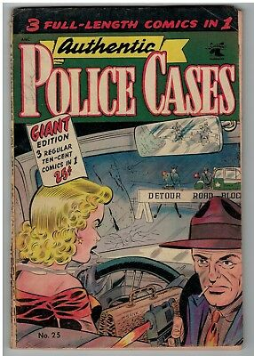 Authentic Police Cases 25  Giant 25 Cent St John Matt Baker- Rare