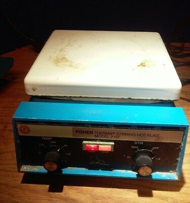 fisher thermix stirring hot plate 210T