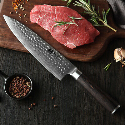 XINZUO 8 inch Professional Chef knife Damascus Kitchen Knife cleaverUtilityknife