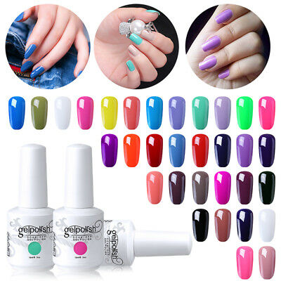 Elite99 Gel Nail Polish Manicure Soak Off UV LED Base Top Coat Pedicure 15ML New