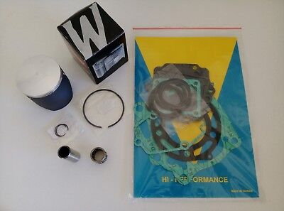KTM EXC 250 2002 Top End Engine Rebuild Wossner Piston Kit Bearing Gasket Set