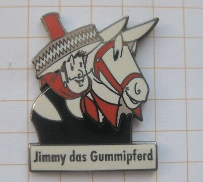 JIMMY DAS GUMMIPFERD ............................. Comic-Pin (171f)