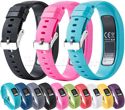 Silicone Watch Strap Bracelet Wrist Band for Garmin VivoFit 4 Activity Tracker