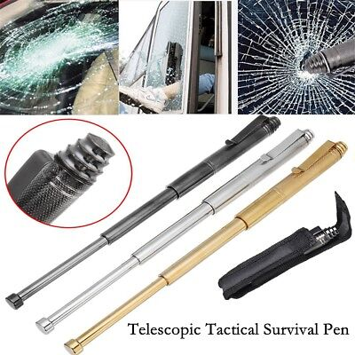Outdoor Self-Defense Window Breaking Devic Telescopic Tool Tactical Survival Pen