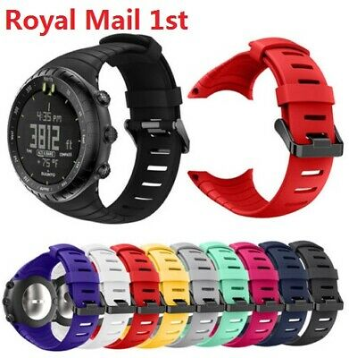 UK Replacement Fashion Sports Silicone Bracelet Strap Band Fit For Suunto Core
