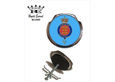 Fittings B2.3025 LINCOLNSHIRE REGIMENT TRF Royale Classic Car Grill Badge