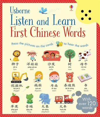Listen & Learn First Chinese Words by Sam Taplin - Hardback - NEW - Book
