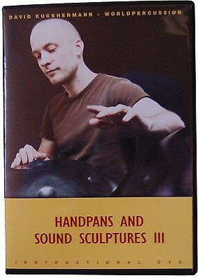 Handpans and Sound 3 Sculptures Lern Dvd  Handpan David Kuckhermann