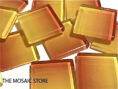 Handmade Colour Combination Glass Mosaic Tiles 2.5cm - Supplies Art Craft