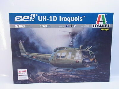"LOT 46033  Italeri No 849 ""Bell UH-1D Iroquois"" 1:48 Bausatz NEU in OVP"