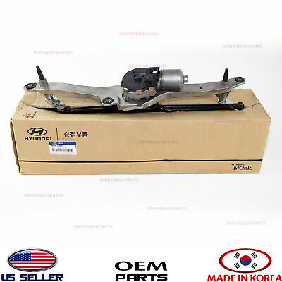 Motor & Windshield Wiper Front Linkage 【Genuine】 Veracruz 2007-2012 981003J000