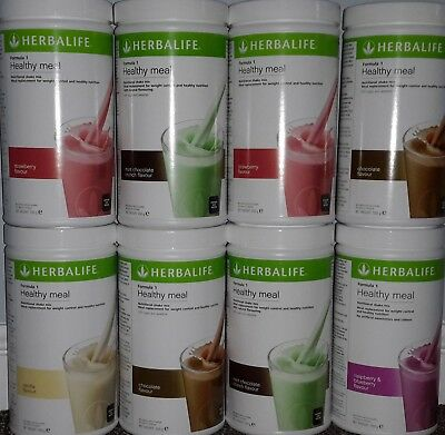 Herbalife Formula 1 Nutritional Shake Mix / Meal replacement 550g tubs FREE P&P