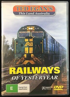 Ted Egan's This Land Australia Railways Of Yesteryear All Region Pal Dvd