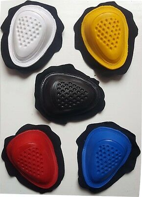 Coppia Saponette Tuta Moto  Dropper Knee Sliders Nero