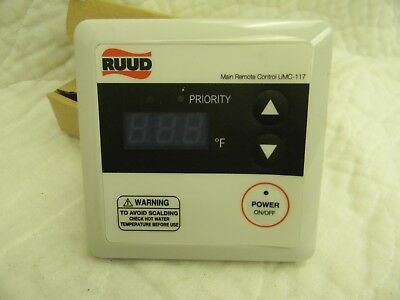 RHEEM/Ruud UMC-117 Tankless Water Heater Control Less Cable New-In-The-Box