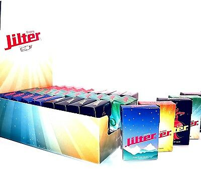 Jilter Glasfilter Glass Rolling Filtertips Tubes Smoking Papers Eindrehfilter