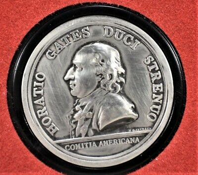General Horatio Gates America's first medals  Pewter