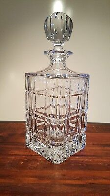 Vintage Imperial Estate Crystal Liquor Decanters - Price Slashed, Was $59.95