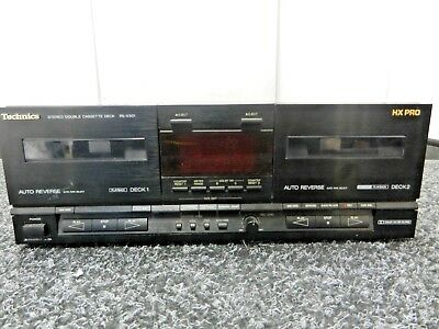 Technics RS-X501 double cassette deck