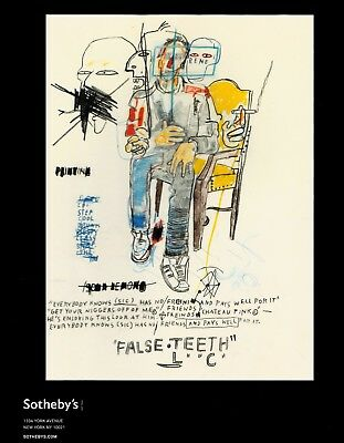 CONTEMPORARY ART - BASQUIAT, TWOMBLY: Sotheby's Wälzer N.Y. 13 +results