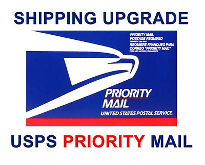 Anytime Sign Ebay order Shipping upgrade to Priority Mail