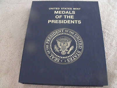 United States Mint MEDALS OF THE PRESIDENTS in Whittman album