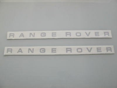 1987-1993 Range Rover Classic County 2D Letters Badge Decal 87 88 89 90 91 92 93