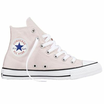 4ef9f8dd15c7 Converse Chuck Taylor All Star Hi Barely Rose Womens Canvas High-tops  Trainers