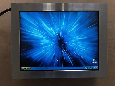 TOP !  Pc Edelstahl Wandmontage Home Automation Panel Industrie  10,4 Zoll