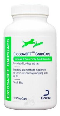 Eicosa 3FF Snip Caps for Small Dogs & Cats (120 count)