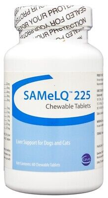 S-Adenosyl SAMeLQ Liver Support Chewable Tablets [225 mg] (60 count)