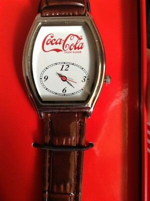 Coca Cola Watch With Tin, New Never Used