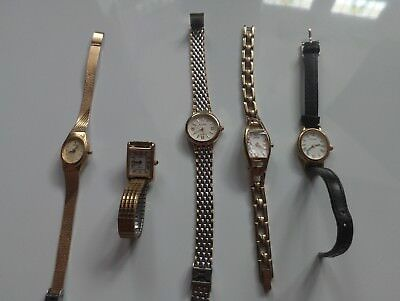 Joblot of 5 ladies watches