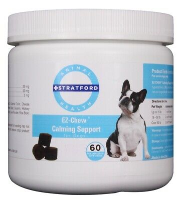 EZ-CHEW Calming Support Soft Chews for Dogs (60 count)