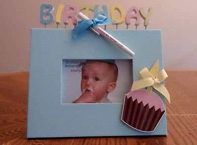Birthday Autograph Frame - Baby - NEW Fits 3 x 5 picture