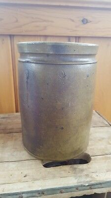 Strasburg Va Antique Salt Glaze Stoneware Crock 1 Gallon