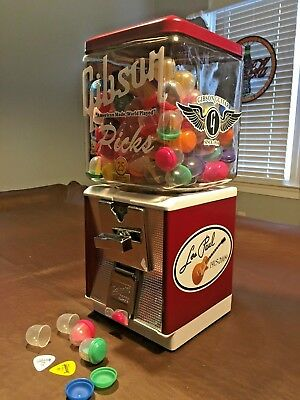 Antique-Vintage Northwestern Coin Operated Gibson Guitar Pick Vending Machine