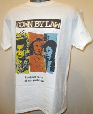 Down By Law T Shirt Retro 80s Film Poster W084 Tom Waits Night On Earth Dead Man