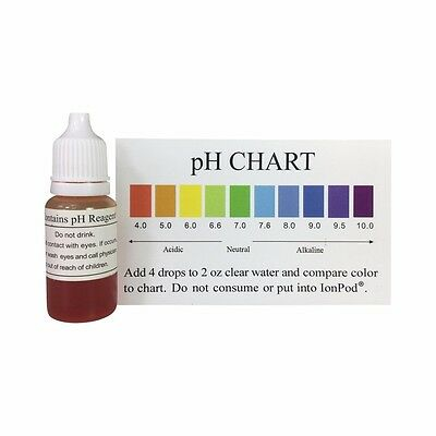 PH Water Test Liquid Alkaline Acid Tester Kit