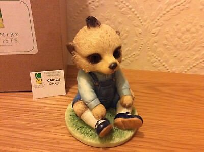 George Magnificent Meerkats Country Artists Figurine Ornament CA04525